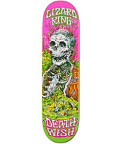 Deathwish Lizard King Buried Alive 8.25 Skateboard Deck