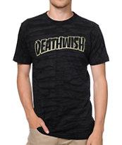 Deathwish Thrash Death Brush Wash Black T-Shirt
