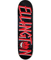 "Deathwish x Spitfire Ellington 8.0"" Skateboard Deck"