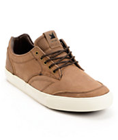 Dekline Tim Tim Espresso Full Grain Leather Skate Shoe