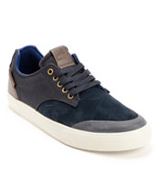 Dekline Tim Tim Midnight & Antique Leather Skate Shoe