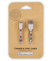 Desert Blanket Charge & Sync Lightning Cable