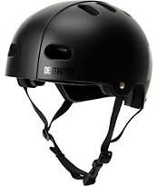 Destroyer DH1 Matte Black Skateboard Helmet