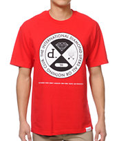 Diamond Supply Co All Or Nothing Red Tee Shirt