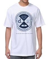 Diamond Supply Co All Or Nothing White Tee Shirt