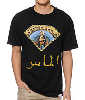 Diamond Supply Co Arabic Mary Black Tee Shirt