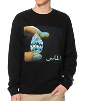 Diamond Supply Co Arabic Shining Crew Neck Sweatshirt