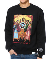 Diamond Supply Co Archangels Black Crew Neck Sweatshirt