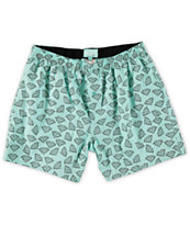 Diamond Supply Co Brilliant Blue & Black Boxers
