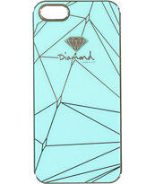 Diamond Supply Co Brilliant Diamond Blue iPhone 5 Snap Case