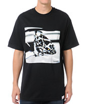 Diamond Supply Co Brilliant Glass Black Tee Shirt