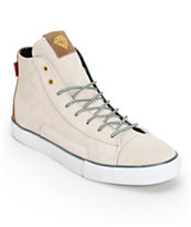 Diamond Supply Co Brilliant Hi Hunter White Skate Shoe