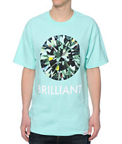 Diamond Supply Co Brilliant Mint Tee Shirt
