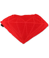 Diamond Supply Co Brilliant Red Croc Pillow