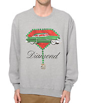 Diamond Supply Co Caddy Crew Neck Sweatshirt