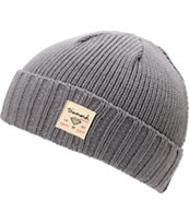 Diamond Supply Co City Cuff Heather Grey Beanie