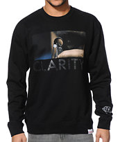 Diamond Supply Co Clarity Pt 2 Black Crew Neck Sweatshirt