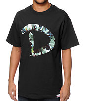 Diamond Supply Co D-Simple Black Tee Shirt