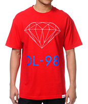Diamond Supply Co DL-98 Red Tee Shirt