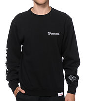 Diamond Supply Co DMND 4 Life Crew Neck Sweatshirt