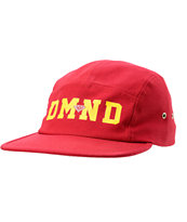 Diamond Supply Co DMND Red 5 Panel Hat