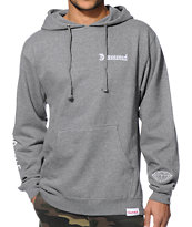 Diamond Supply Co DMND4Life Grey Pullover Hoodie