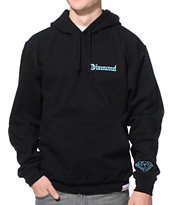 Diamond Supply Co Diamond 4 Life Black Pullover Hoodie