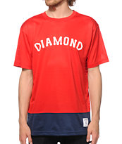 Diamond Supply Co Diamond Arc Mesh T-Shirt