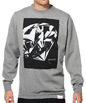 Diamond Supply Co Diamond Cut Crew Neck Sweatshirt