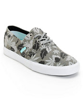 Diamond Supply Co Diamond Cuts Black Weed Canvas Shoe
