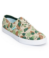 Diamond Supply Co Diamond Cuts Tan Camo Canvas Shoe
