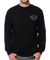 Diamond Supply Co Diamond Everything Black Long Sleeve Tee Shirt