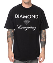 Diamond Supply Co Diamond Everything Black Tee Shirt