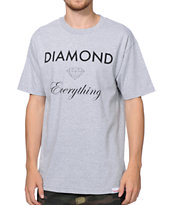 Diamond Supply Co Diamond Everything Grey Tee Shirt