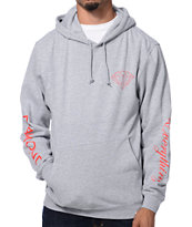 Diamond Supply Co Diamond Everything Heather Grey Pullover Hoodie