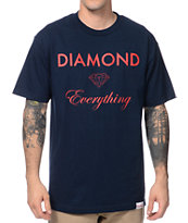 Diamond Supply Co Diamond Everything Navy Tee Shirt