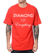 Diamond Supply Co Diamond Everything Red T-Shirt