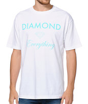 Diamond Supply Co Diamond Everything White Tee Shirt
