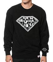 Diamond Supply Co Diamond Skulls Crew Neck Sweatshirt