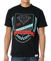 Diamond Supply Co Diamond Society Black Tee Shirt