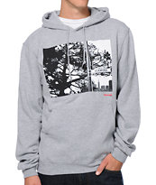 Diamond Supply Co Diamond Street Heather Grey Pullover Hoodie