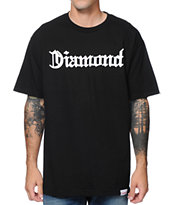 Diamond Supply Co Diamond4Life Black Tee Shirt