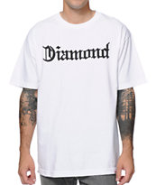 Diamond Supply Co Diamond4Life White Tee Shirt