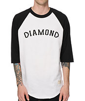 Diamond Supply Co Dugout Baseball T-Shirt