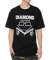 Diamond Supply Co Everything Rules Black Tee Shirt
