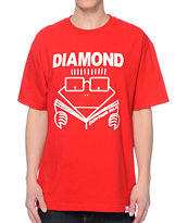 Diamond Supply Co Everything Rules Red Tee Shirt
