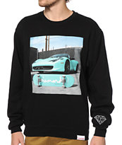 Diamond Supply Co Ferrari Crew Neck Sweatshirt