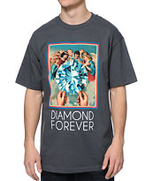 Diamond Supply Co Forever Charcoal Tee Shirt