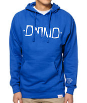 Diamond Supply Co Gang Blue Pullover Hoodie