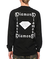 Diamond Supply Co Gang Long Sleeve Tee Shirt